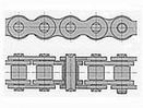 Łańcuchy rolkowe Galla 1 - rzędowe