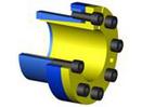 CLAMPEX 250 - samocentrujący